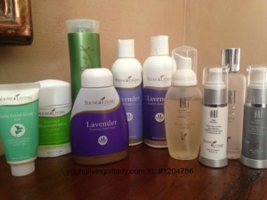 Young Living Skincare products Young Living Oil Lady uses