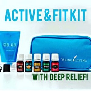 Young Living active and fit essential oil kit
