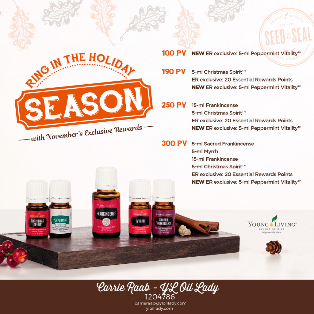 YL November FREE Product Promotion