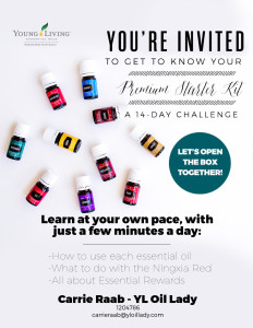 14 Days of the Premium Starter Kit by YL Oil Lady