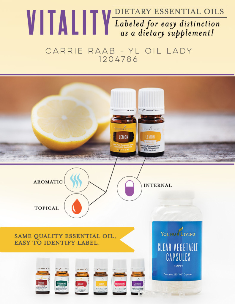 YL Vitality Oils