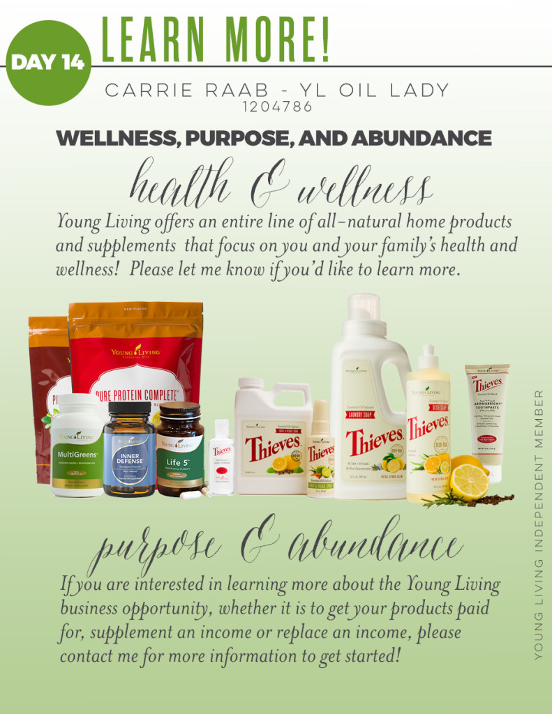 Learn-More about Young Living